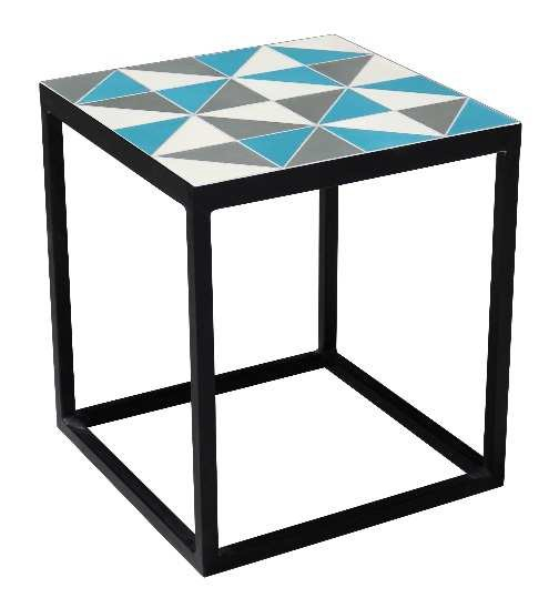 2018 SACREDEARTH SIDE TABLE MOSAIC COLOR TILE 1
