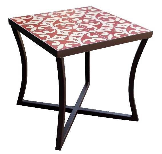 2018 SACREDEARTH SIDE TABLE MOSAIC COLOR TILE 2