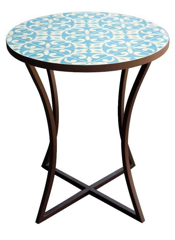 2018 SACREDEARTH SIDE TABLE MOSAIC COLOR TILE 3