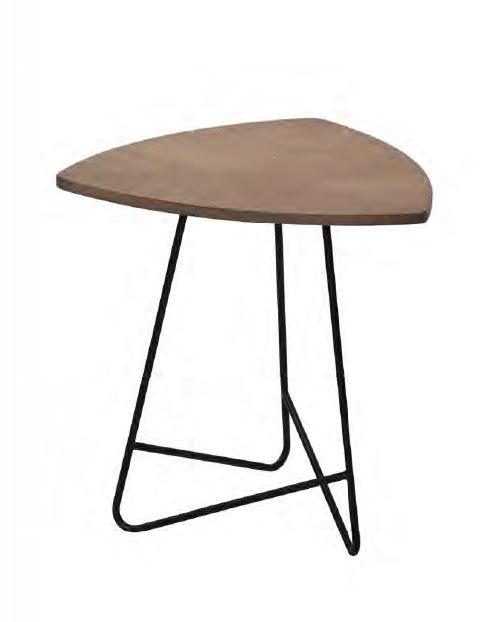 2018 TANVANNHAN SIDE TABLE MDF TOP STEEL KD LEG