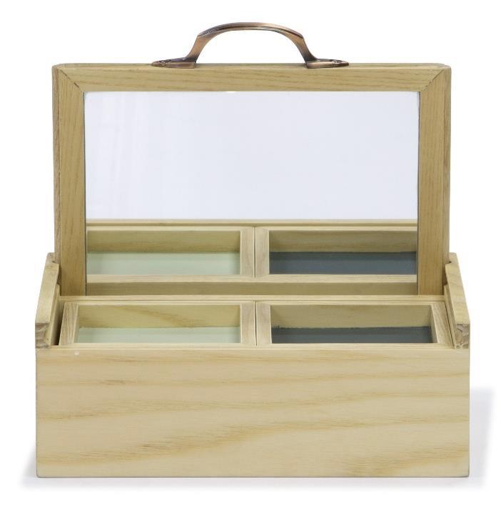 Jewelry Box ASH WOOD B02
