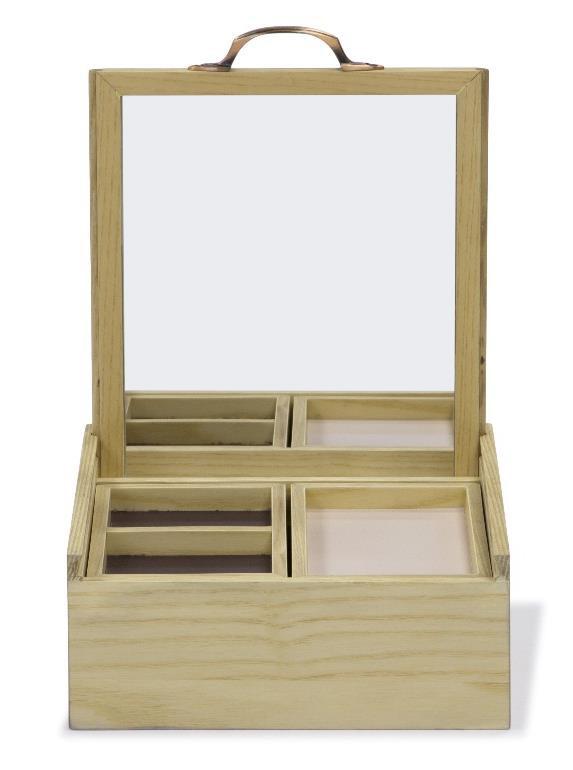 Jewelry Box ASH WOOD C02