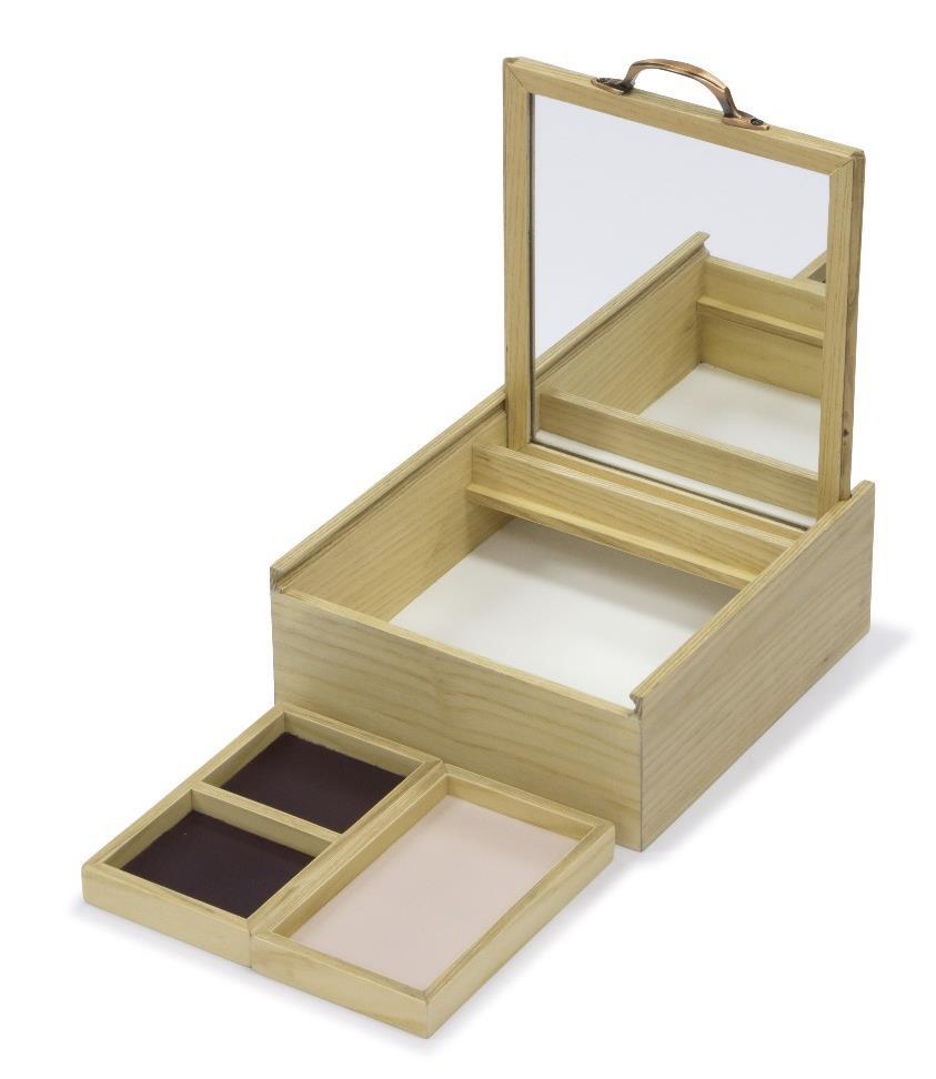Jewelry Box ASH WOOD C03