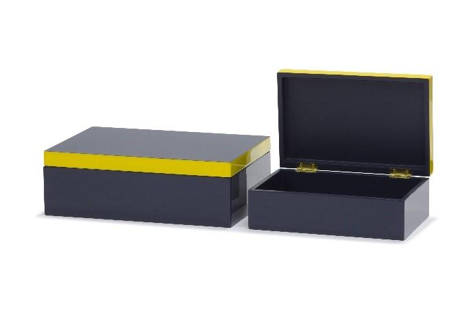 LACQUER Box WITH COLOR RIM 01