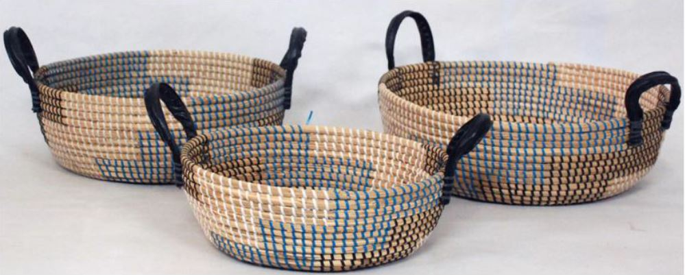 Seagrass with Nylon String Basket 10