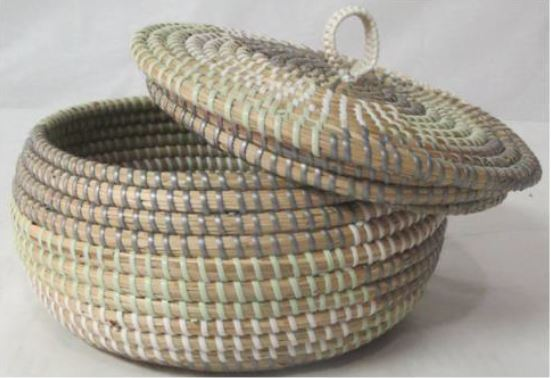 Seagrass with Nylon String Basket 2