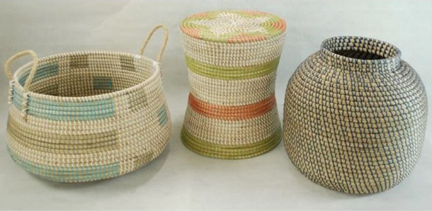 Seagrass with Nylon String Basket 3