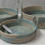 Seagrass with Nylon String Basket 6