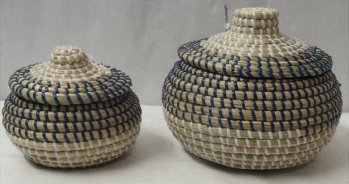 Seagrass with Nylon String Basket 8