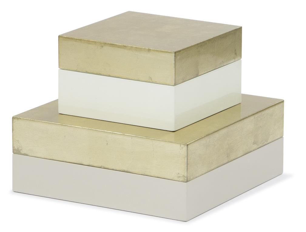 Storage MDF LACQUER GOLD FOIL 01
