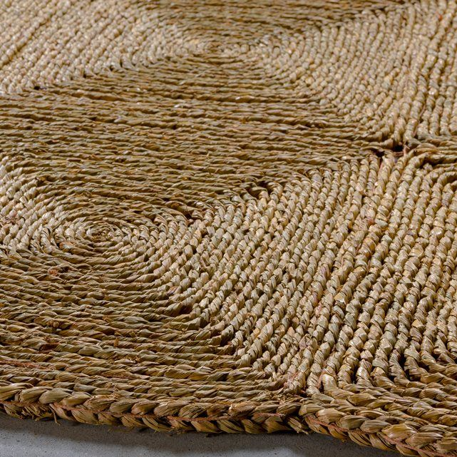 Water hyacinth rug
