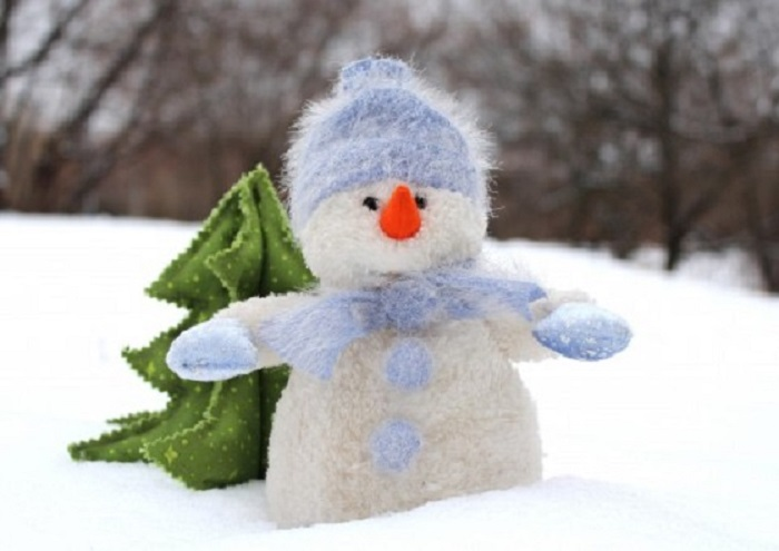 snowman_christmas_tree_new_year's_eve_christmas_snow_nature_winter_holiday-839326