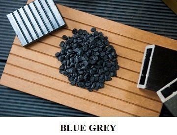Compound HDPE - Blue grey colour