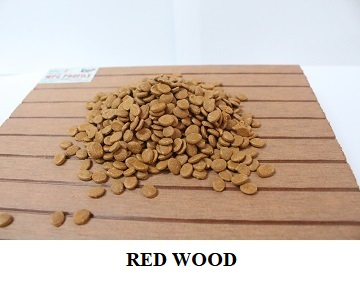 Compound HDPE - Red wood colour