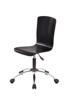FULLIN PLYWOOD & METAL OFFICE CHAIR 1