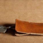 leather keys holder
