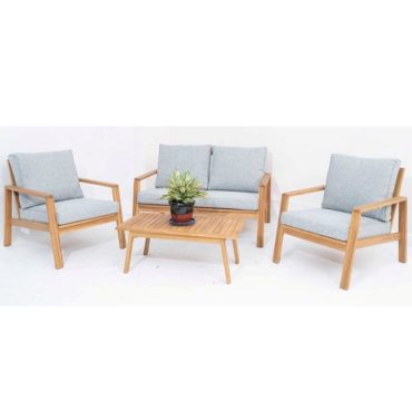 WOODEN SOFA SET OF 4