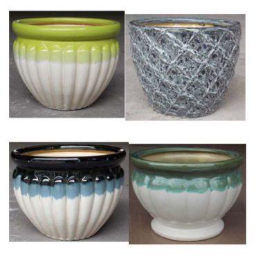 EMERALD COMBO (ceramic pots)