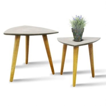 FIBER CEMENT TRIANGLE TABLE