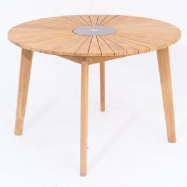 ACACIA WOOD ROUND TABLE