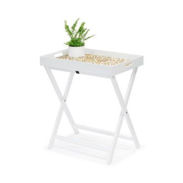 FOLDING TABLE – WHITE LACQUER