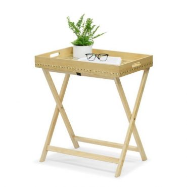 FOLDING TABLE – NATURAL WOOD