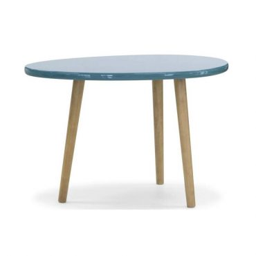 SADDLE TABLE – LACQUER TOP