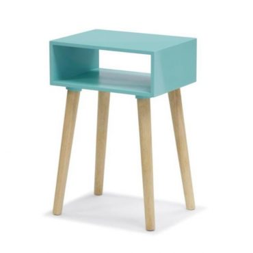 SIDE TABLE – GREEN LACQUER