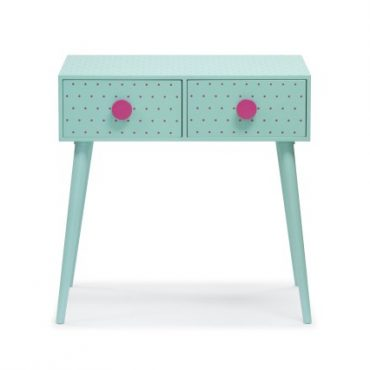 SIDE TABLE w DRAWERS