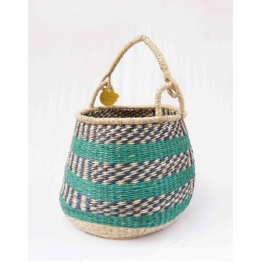 SEAGRASS EGG SHAPE BASKET