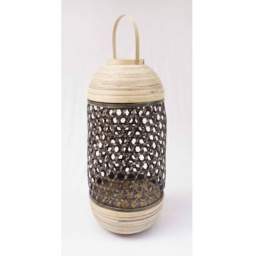 BAMBOO LANTERN BLACK-TALL