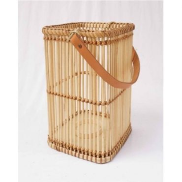 BAMBOO LANTERN NATURAL-SQUARE