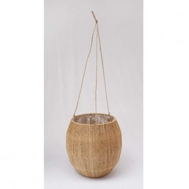 JUTE HANGING BASKET 19506