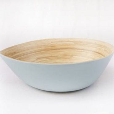 PRESSED BAMBOO BOWL 19412