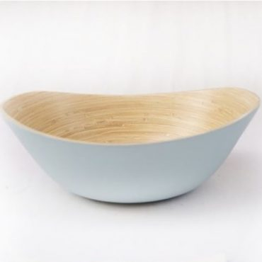 PRESSED BAMBOO BOWL 19413