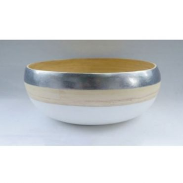 PRESSED BAMBOO BOWL 17658