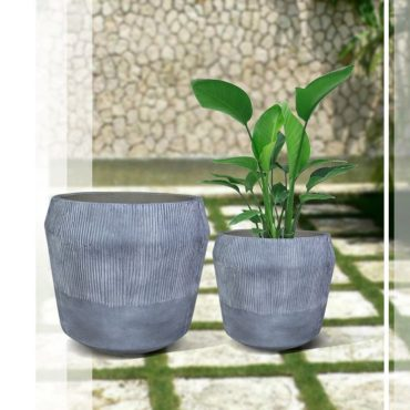 LIGHT FIBER CEMENT POT – RP17-402