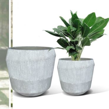 LIGHT FIBER CEMENT POT – RP17-404