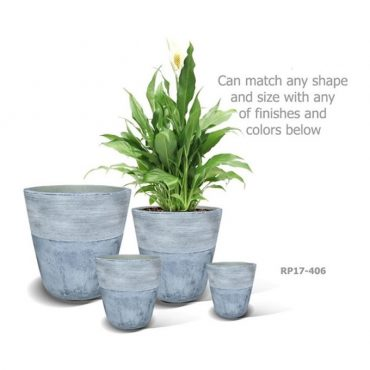 LIGHT FIBER CEMENT POT – RP17-406