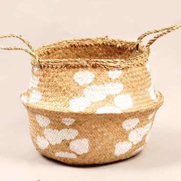 Belly basket – cloud pattern