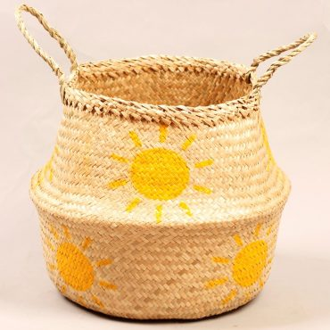 Belly basket – sun pattern