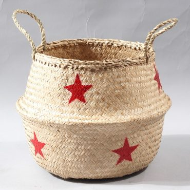 Belly basket – red stars
