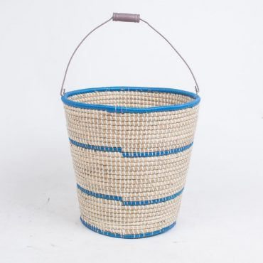 Farmhouse basket – iron core handle