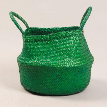 Belly basket – Xmas green