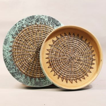 Seagrass & Bamboo Trays – Sun Design