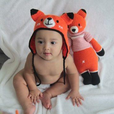 BABY FOXXIE HOODY